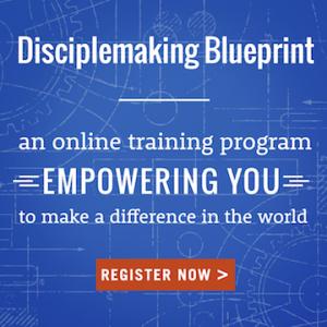 Disciplemaking Blueprint - register today!