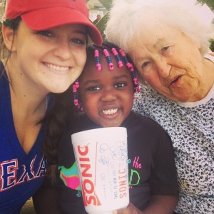 Meghan Story and Gramma
